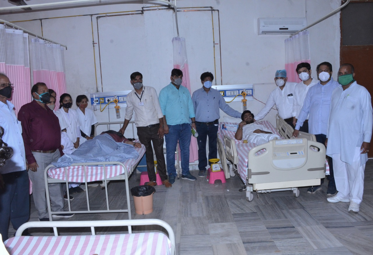 Blood Donation Camp Organized on 07 June 2020